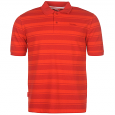 Slazenger Pique férfi galléros póló piros 3XL