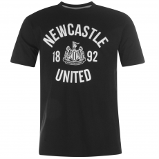 NUFC Crew férfi póló fekete L