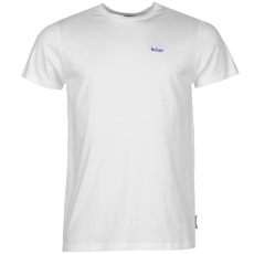 Lee Cooper Essential Crew férfi póló fehér XXL
