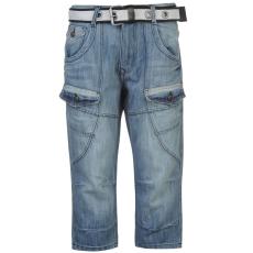 No Fear Calf férfi zsebes rövidnadrág világoskék 3XL