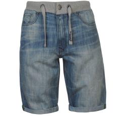 No Fear Férfi farmer rövidnadrág világoskék XL