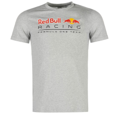 Puma Red Bull Racing Logo férfi póló szürke M