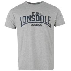 Lonsdale Box férfi póló szürke 3XL