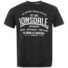 Lonsdale Box férfi póló sötétszürke XXL