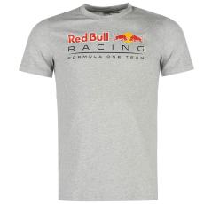 Puma Red Bull Racing Logo férfi póló szürke S