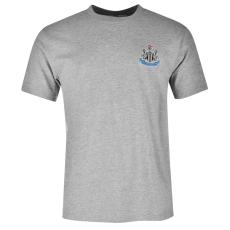 NUFC Small Crest férfi póló szürke S