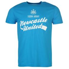 NUFC Newcastle United Graphic férfi póló világoskék S
