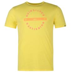 Quiksilver Rollin férfi póló sárga XL