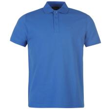 Pierre Cardin Plain férfi galléros póló kék 3XL