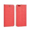 TOPTEL Kabura Vennus Samsung Galaxy J5 (2016) oldalra nyíló tok kerettel, piros