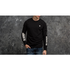 WOOD WOOD Han Longsleeve T-Shirt Black