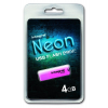 Integral USB Flash Drive Neon 4GB USB 2.0 Pink