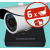 Sec-CAM 4MP-AHD-SET-06CF, 4MP felbontású 6 kamerás komplett AHD megfigyelő szett