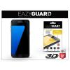 Eazyguard Samsung G935F Galaxy S7 Edge gyémántüveg képernyővédő fólia - Diamond Glass 3D Fullcover - fekete