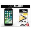 Eazyguard Apple iPhone 7 gyémántüveg képernyővédő fólia - Diamond Glass 3D Fullcover - fekete