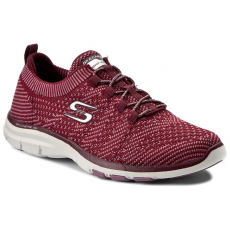 Skechers Cipők SKECHERS - Galaxies 22882/BUPK Burdgundy/Pink