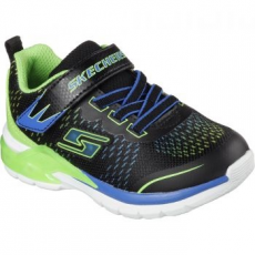 Skechers Lights Erupter II Lava Arc gyerek sportcipő, Blue/Lime, 23 (90551N-BBLM-23)