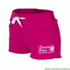 Gorilla Wear Női NEW JERSEY SWEAT SHORT pink XS Gorilla Wear