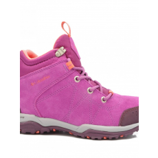 Columbia 1701841519 FIRE VENTURE MID WP SUEDE INTENSE VIOLET