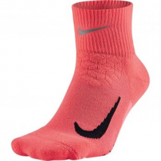 Nike Quarter Run unisex zokni, Hot Punch/Black, L (SX5463-667-L)