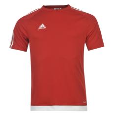Adidas Sportos póló adidas 3 Stripe Estro fér.