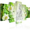 Artgeist Kép - Buddha and jasmine