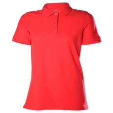 KEYA Női galléros piké póló, piros