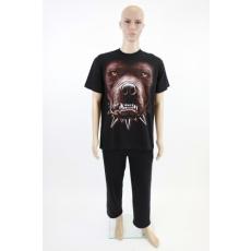 Kutyafejes férfi póló