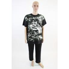 Harckocsis férfi póló