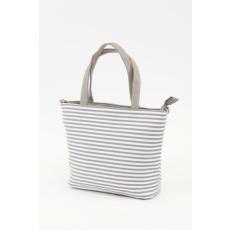 Csíkos női táska