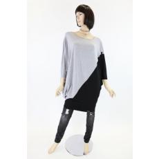 Szürke-fekete női felső / ruha