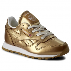 Reebok Cipők Reebok - Classic Leather Metallic BS7457 Brass/White