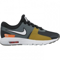 Nike Air Max Zero SI férfi sportcipő, Black/Light Bone, 37.5 (881173-001-6.5)