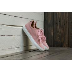 Marco Laganà Sneaker Low Velour Pink-White