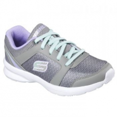 Skechers Stepz-Speed Dial gyerek sportcipő, Grey/Light Green, 27 (996275L-GYLV-27)