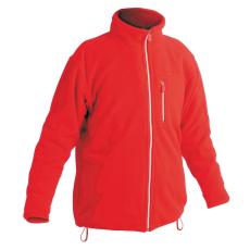 Cerva KARELA polár kabát piros XS