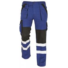 Cerva MAX REFLEX nadrág kék/fekete 48