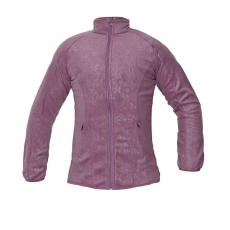 CRV YOWIE női polár kabát fény lila L
