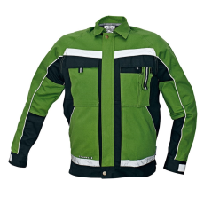AUST STANMORE kabát zöld/fekete 54