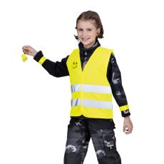 Cerva NARDA gyermek szignalizáló mellény sárga h. 140