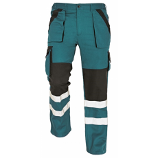 Cerva MAX REFLEX nadrág zöld/fekete 50
