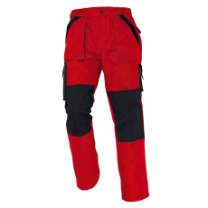 Cerva MAX nadrág piros/fekete 66