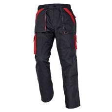 Cerva MAX nadrág fekete/piros 48