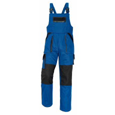 Cerva MAX kertésznadrág kék/fekete 48