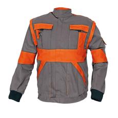Cerva MAX kabát szürke / narancs 50