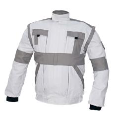Cerva MAX kabát fehér / szürke 56