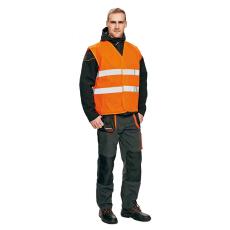 Cerva LYNX jólláthatósági mellény narancs XL