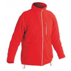 Cerva KARELA polár kabát piros XXXL