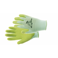 Kixx FUDGE kesztyű nylon, latex tenyér zöld - 5