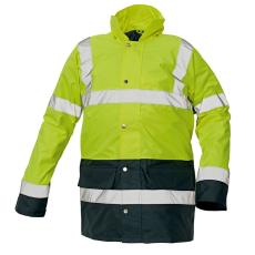 Cerva SEFTON kabát HV sárga/navy XXXL